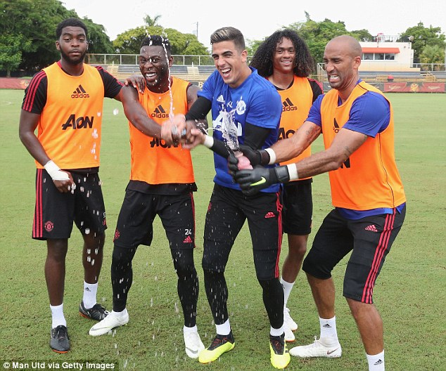 Spirits appear high in the United camp despite the Red Devils still searching for a victory