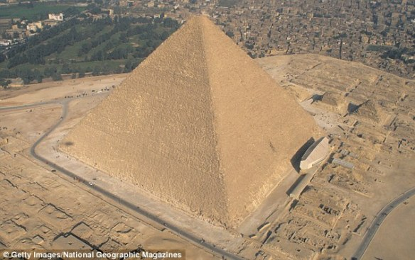 While the 481-foot pyramid built thousands of years ago for Pharaoh Khufu has long drawn intrigue for its purported mythical qualities, the study is among a growing body of research attempting to finally get to the bottom of its physical properties