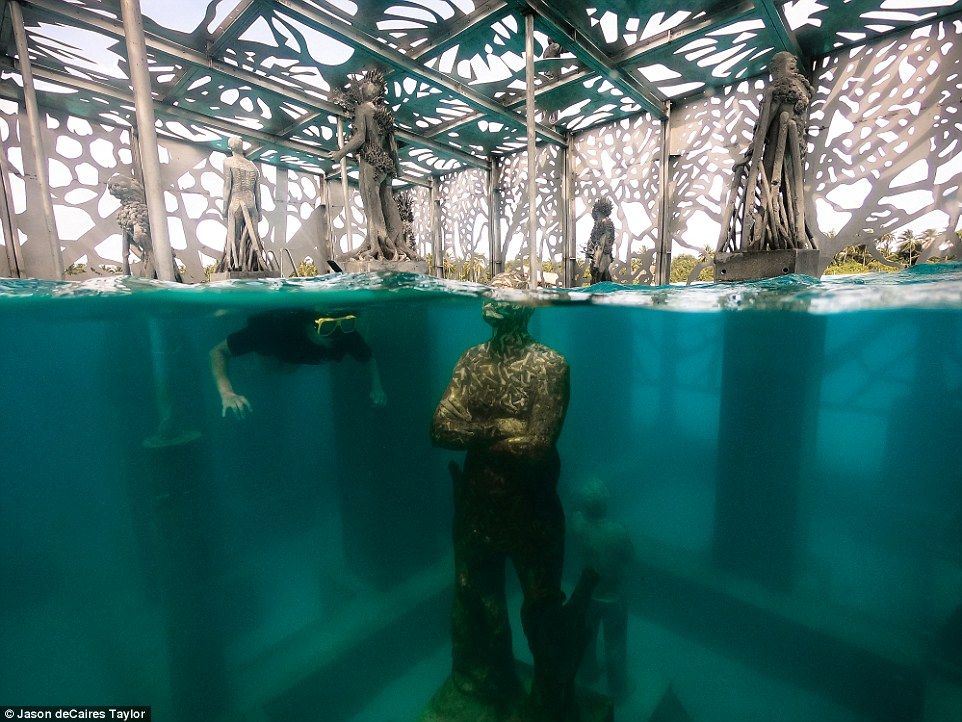 It is unclear why the sculptures were not raised from the waters until Friday, just two days before Yameen was turfed out of office