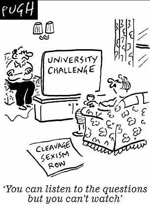 University Challenge viewers struggle to contain