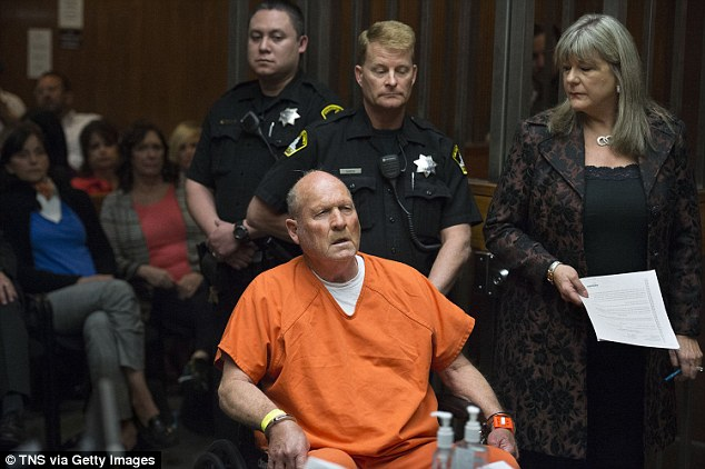 Privacy concerns related to DNA testing came to the nation's attention with the arrest in April of suspected 'Golden State Killer,' Joseph DeAngelo, who is seen here at his arraignment in a Sacramento courtroom on April 27; His arrest was made possible by a public DNA database
