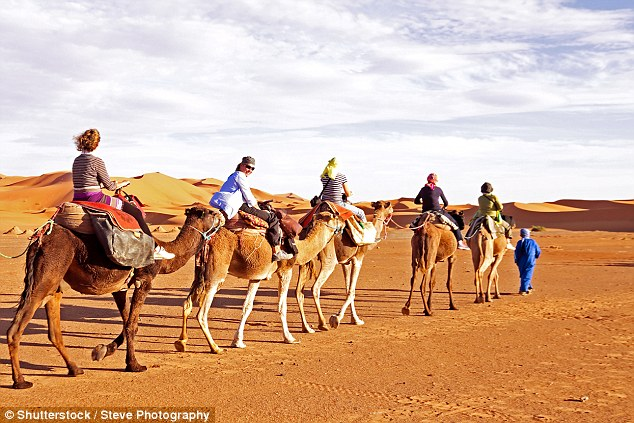 Camel rides in Egypt have been known to be particularly dangerous for tourists