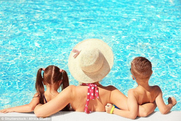 In Spain, families are warned to be careful around swimming pools with young children due to a risk of drowning
