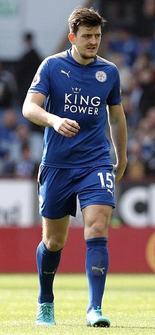 Leicester defender Harry Maguire is likely to miss the opening Premier League game against Manchester United