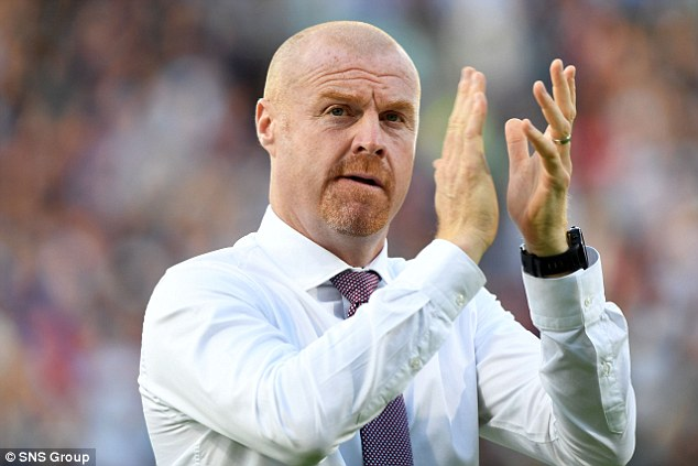 Sean Dyche is relieved he can finally offer Burnley fans an authentic 'European' trip