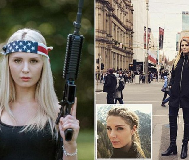 Lauren Southern Says Melbourne Should Be Nuked In Front Of Cheering Brisbane Audience Daily Mail Online