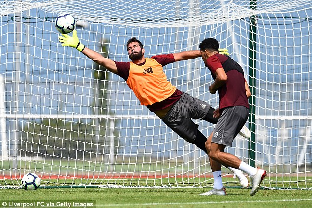 Alisson (pictured) and Van Dijk give the Reds a base they simply have not had for years