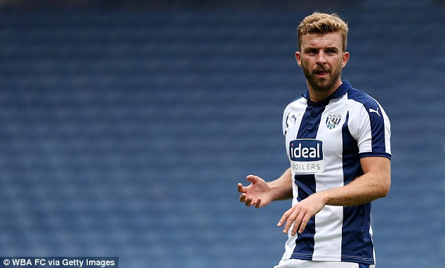 West Brom have also announced that James Morrison has signed a new one-year contract