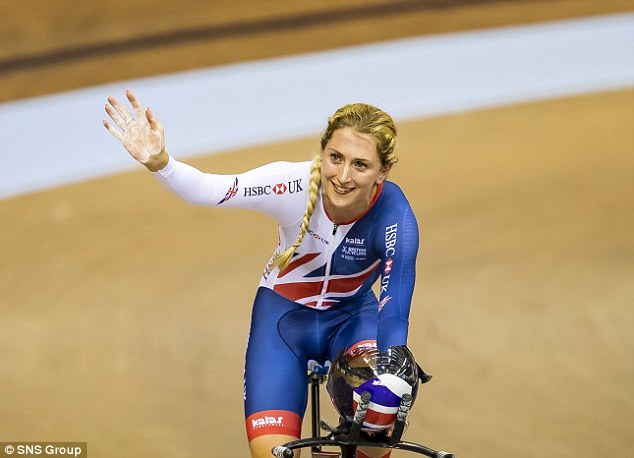Four-time Olympic champion Laura Kenny delivered gold for Great Britain on Friday night