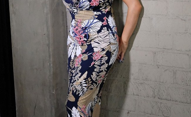Courtney Stodden Turns Heads In Sexy Floral As She Emerges