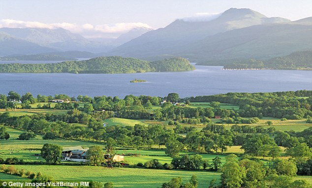 Graham  lives in a in a three-bedroom house that she says has 'beautiful views across the mountains and Loch Lomond'
