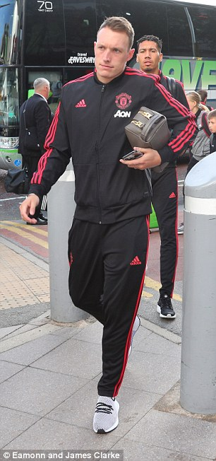 Phil Jones also returns to the squad following the World Cup