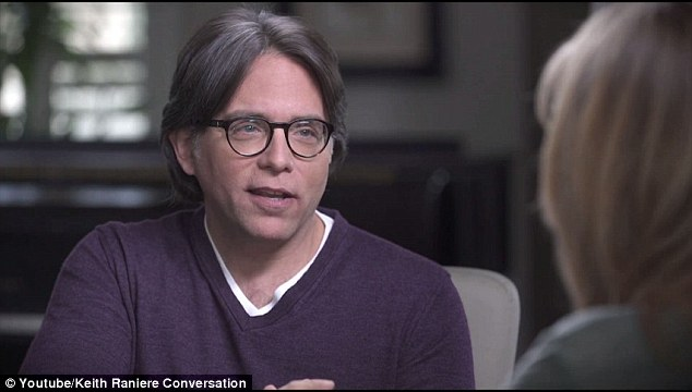 Oxenberg has spent the past year trying to bring down the cult in hopes of getting her 27-year-old daughter away from the organization and leader Keith Raniere (above)