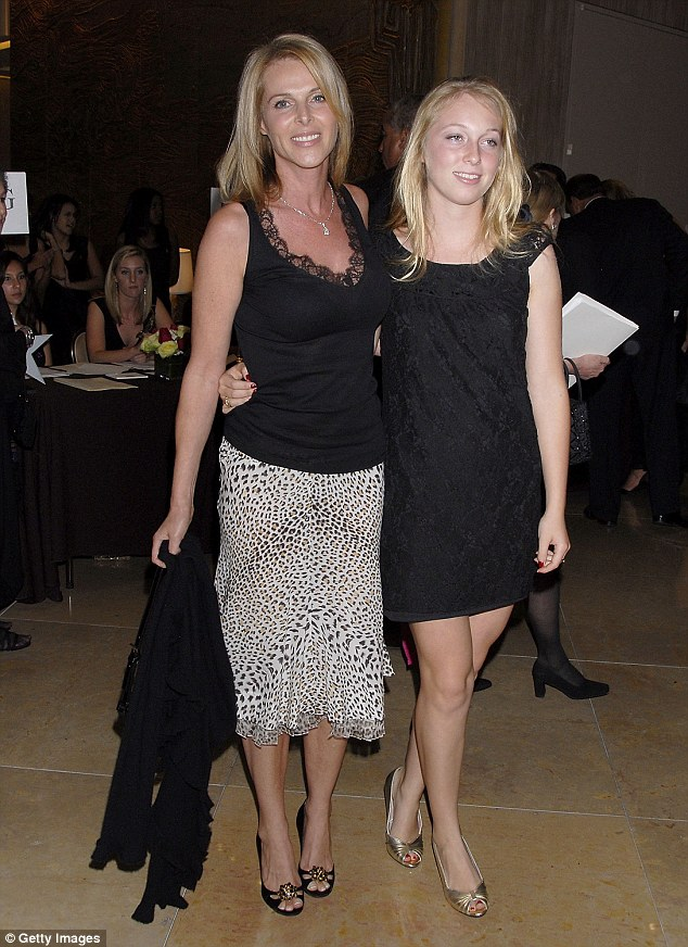 Oxenberg has spent the past year trying to bring down the cult in hopes of getting her daughter India (above in 2007) away from Nxivm, leader Keith Raniere and Allison Mack