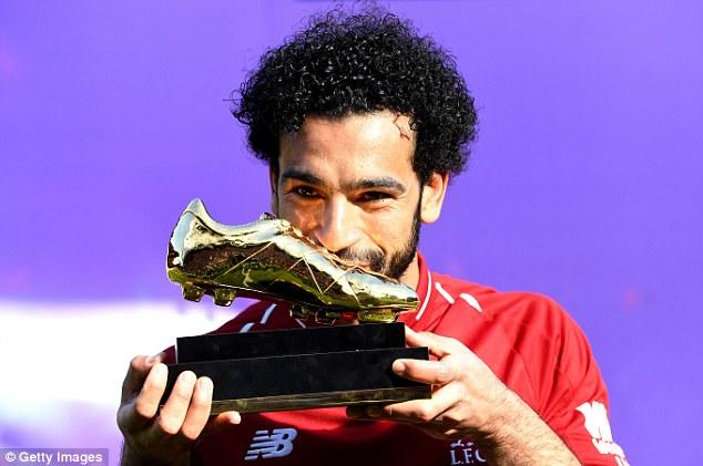 Mo Salah picked up the Premier League Golden Boot last season after netting 32 league goals