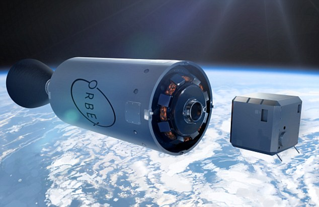 Out of this world: An Orbex rocket and a satellite. Cash has started to flow into space firms after a spaceport in the Scottish Highlands was announced