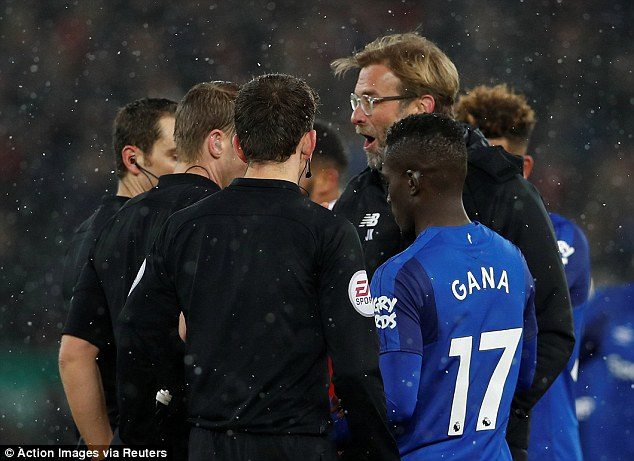 Jurgen Klopp had more reason to complain after his Liverpool side missed out on 12 points