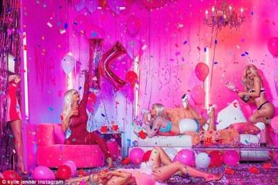 Kylie Jenner share birthday photos