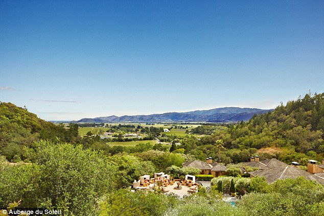 There's no country like wine county: The resort boasts sun-drenched views of Napa Valley