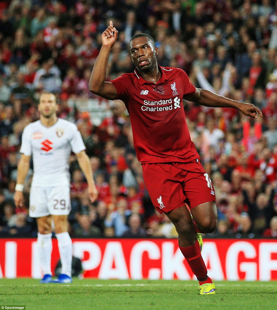 Sturridge's downward header just before the end capped the win after Andrea Belotti had pulled one back on 31 minutes