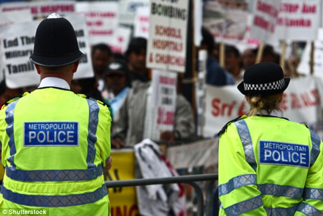 Rights groups are taking five UK police forces to court over their failure to deny they use the hardware, which mimics mobile phone towers to connect with devices, to spy on British citizens (stock image)