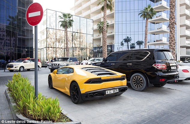 Saeed Ali Rent a Car says Hashi left his passport as a guarantee for using the £260,000 supercar (pictured). However, speaking to MailOnline, Farah's brother Adman claimed the firm came to the Briton's hotel to demand he hand over the passport and called the fine 'ridiculous'