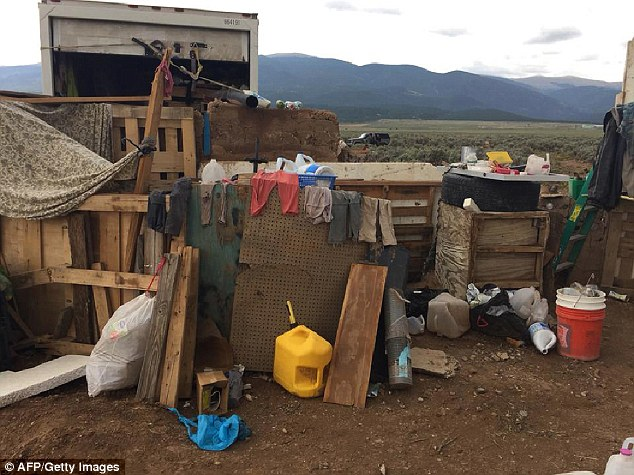 The conditions inside the compound were described by police as the worst they had seen in 30 years after they found the children on Friday. There was no running water or food and the children all had terrible personal hygiene