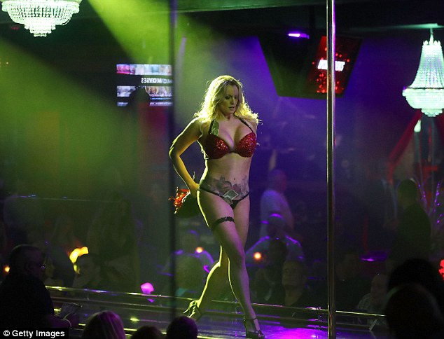 The porn star kicked off her Make America Horny Again tour earlier this year. Stormy was not present in court on Wednesday but is due on stage of New Jersey Strip club tonight