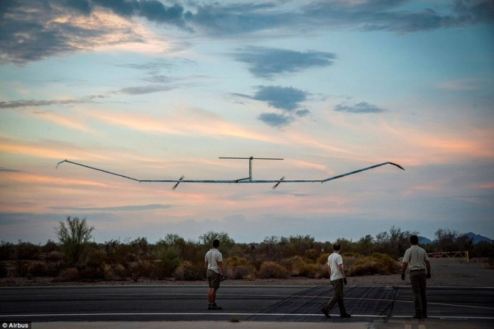Airbus' pioneering solar-powered drone has managed to set a world record in its maiden voyage. After taking off on July 11, it was able to stay in the air for an astounding 25 days, 23 hours and seven minutes, which landed it a world record