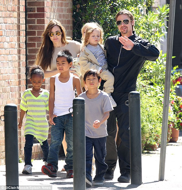 Custody issues have proved to be the biggest stumbling block in legally ending the Jolie-Pitt marriage. At issue is how much time the children get to spend with their father, seen in 2011