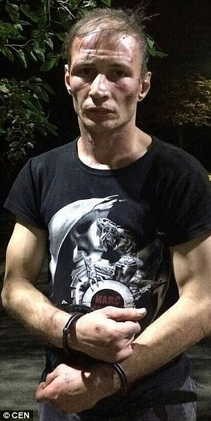 Baksheev, 35, from Krasnodar in southern Russia, was identified as having told interrogators he began his macabre reign of terror in 1999