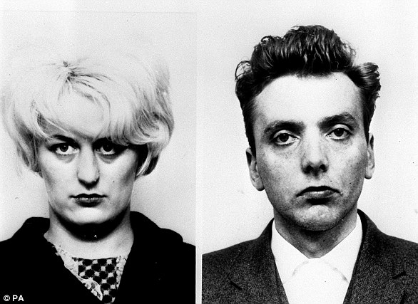 Myra Hindley (left) and Ian Brady (right) shocked the nation with their heinous crimes