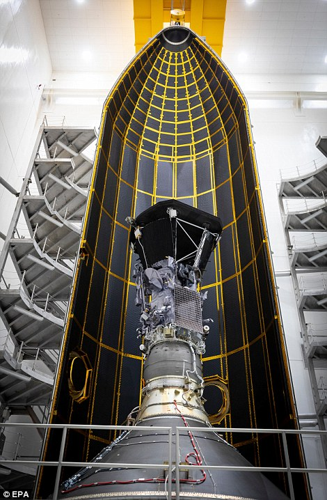 The Parker Probe will be subjected to temperatures of roughly 2,500 degrees Fahrenheit when it comes closer to the sun than any spacecraft in history – but, behind its thick heat shield, it will only feel like a hot summer day, with this sheltered region maxing out at about 85 degrees.