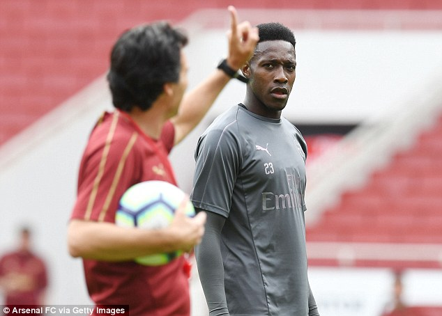 Welbeck will be hoping for opportunities from the new manager as the season unfolds
