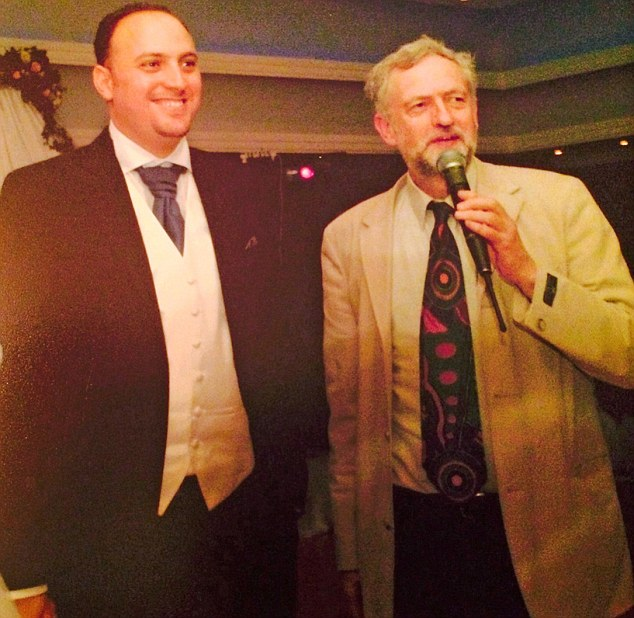 Jeremy Corbyn spoke at alleged Holocaust 'denier' Husam Zomlot's wedding, five years before the MP became Labour leader
