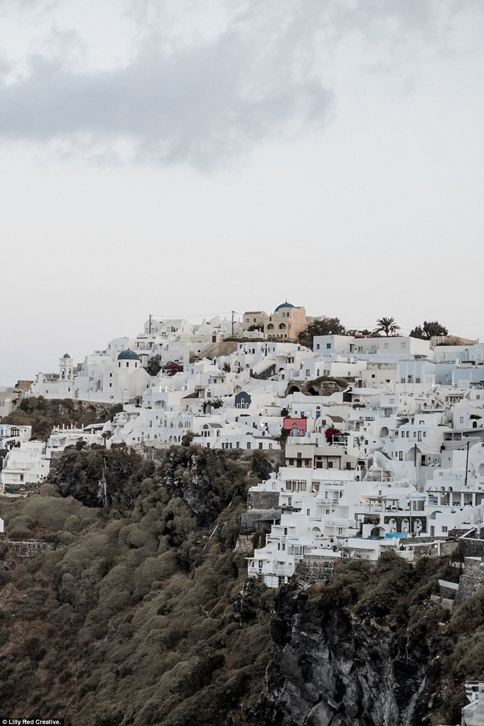 Speaking about her wedding itself, Nicole explained that eloping and marrying completely in secret in Santorini took 'so much of the stress out of getting married'