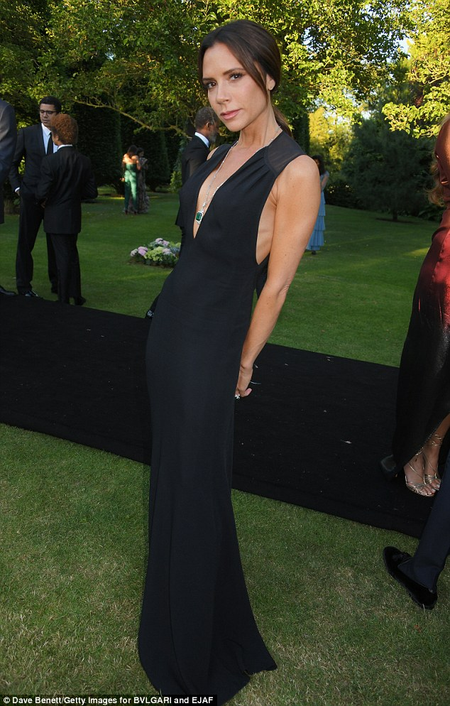Stop right now, thank you very much: Victoria Beckham 'told her to pay for dresses, which went down like a lead balloon,' according to the newspaper. Seen here in June