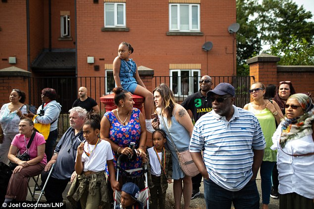 Families lined the streets in Moss Side to watch the carnival in Moss Side but hours after the event ten revellers were shot