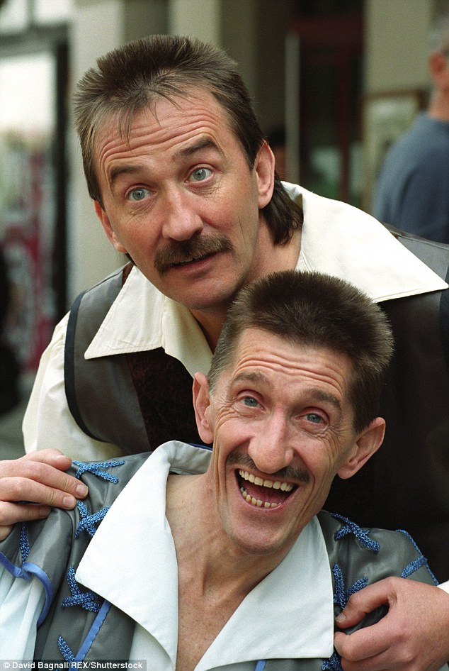Fan favourite: The pair were best known for their hit BBC show ChuckleVision which ran for 21 series from 1987 to 2009