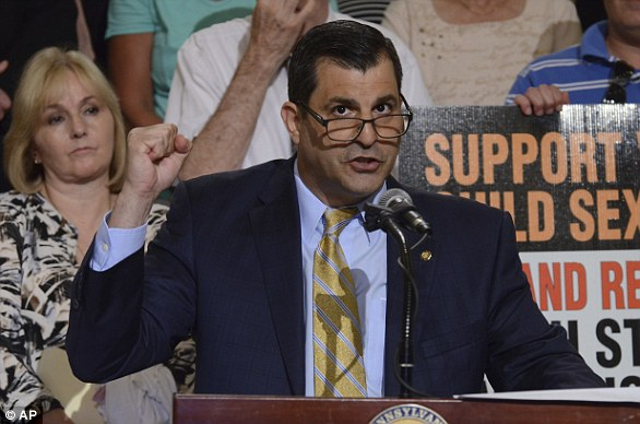 State Rep. Mark Rozzi says he was raped in the shower at 13 by lateRev. Edward Graff