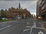 Police are investigating after a man tried to abduct a woman on St Georges Road (pictured) in Glasgow city centre