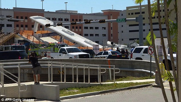 FIGG employees met with FIU officials, Munilla Construction Management representatives and the FDOT to discuss the cracks on March 15 before the collapse