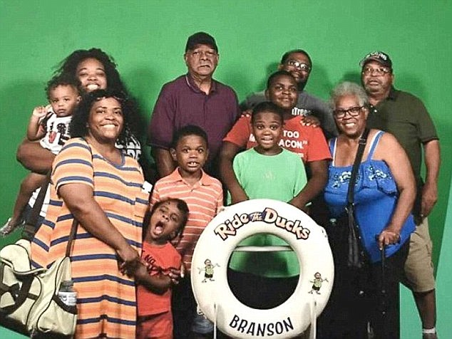 An Indiana family who lost nine relatives in the accident has also filed a lawsuit seeking $100million in damages against the owners and operators.The Coleman family is pictured here taking a souvenir photo right before the doomed boat ride