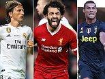 Mohamed Salah, Cristiano Ronaldo and Luka Modric nominated for UEFA Men's Player of the Year award