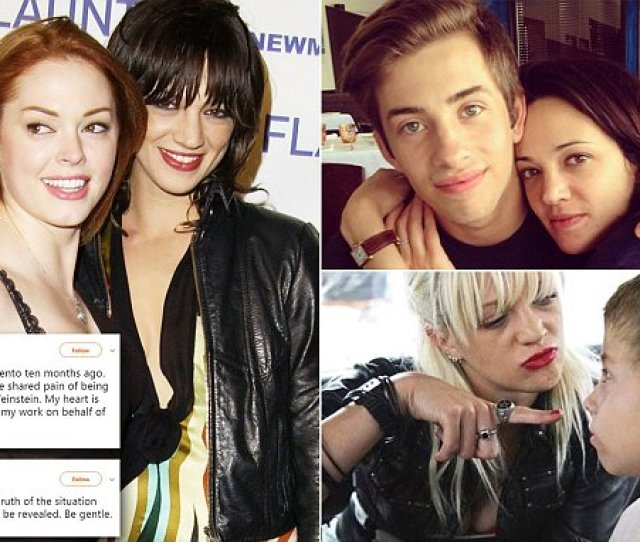 Rose Mcgowan Says Her Heart Is Broken After Asia Argento Sex Assault She Also Posted Five Photos From The Pairs Meet Up To Her Instagram That Day