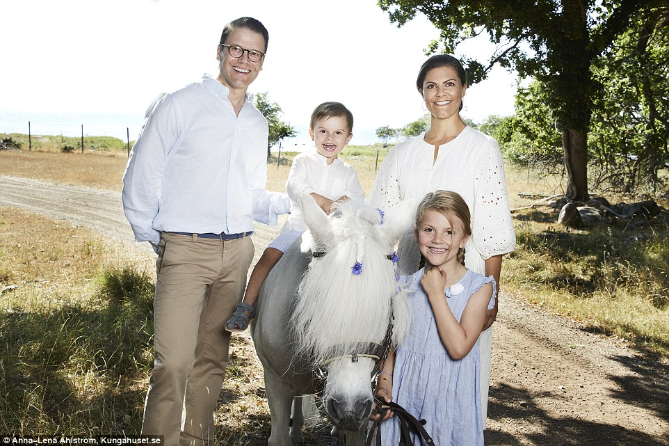 Swedish palace releases charming snaps of the royal family