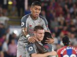 Crystal Palace 0-2 Liverpool: Milner and Mane seal win for Reds
