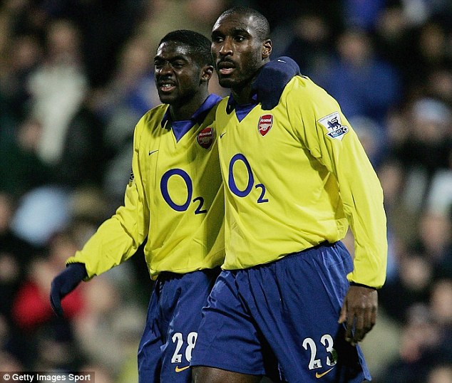 Sol Campbell and Kolo Toure were the bedrock of Arsenal's Invincibles in 2003-04