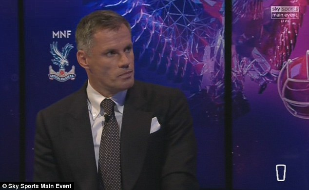 Jamie Carragher believes Van Dijk could one day sit alongside club legend Alan Hansen