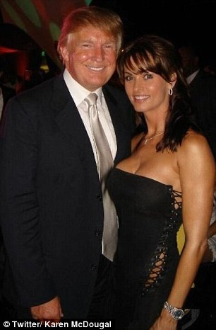 Cohen also negotiated a $ 150,000 payment from American Media Inc. to former Playboy cover model Karen McDougal, who claims she had a one-year affair with Trump